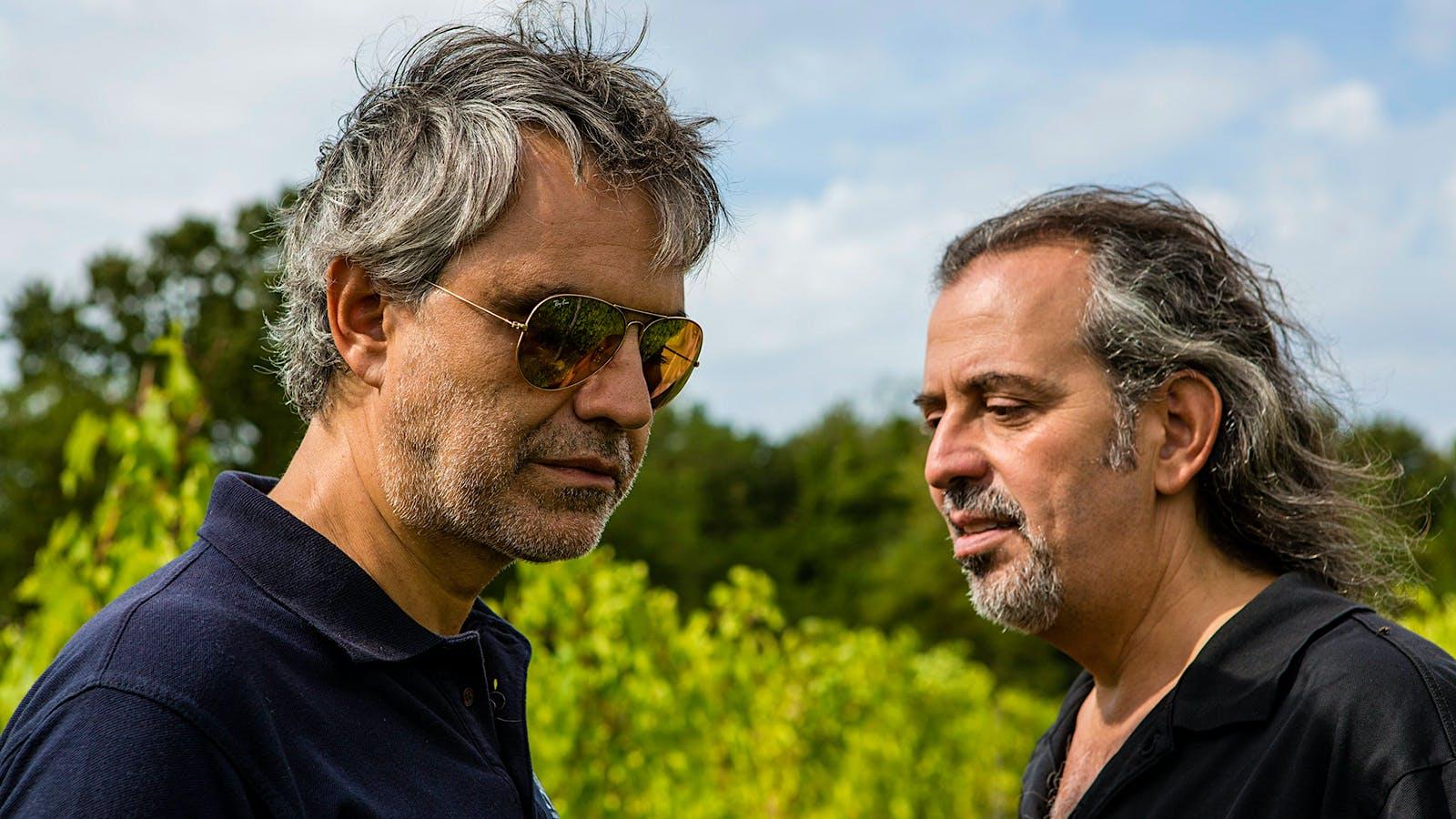 Wine Talk: Andrea and Alberto Bocelli's Tuscan Duet