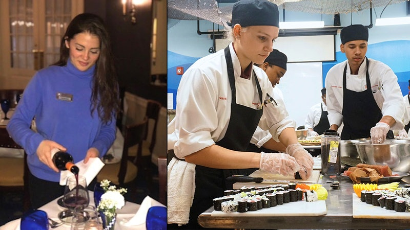 Restaurant Talk: At College Restaurants, Students Run the Show