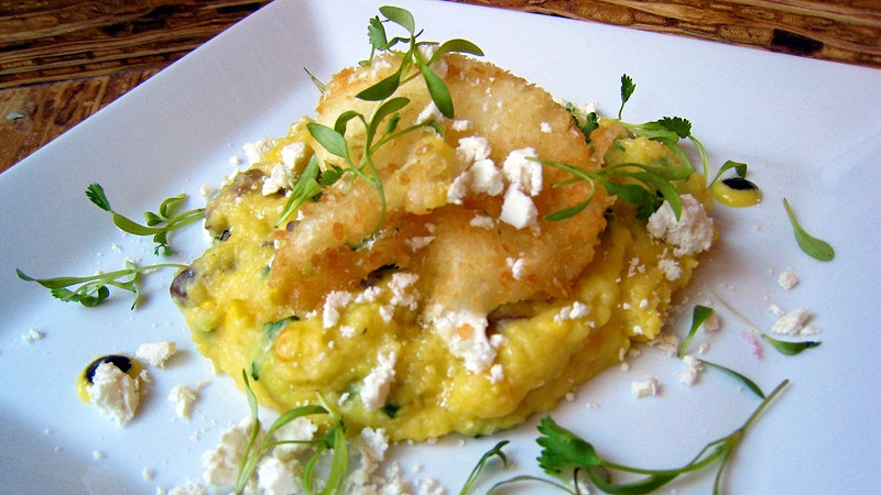 A Mother's Day Delight: Amanda Cohen's Poached Eggs and Creamed-Corn Grits