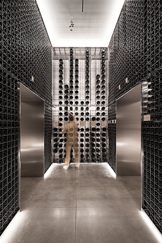 Masseto Unveils New Ultramodern Underground Winemaking