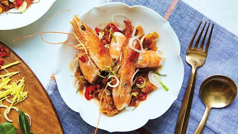 Spicy Thai Prawns and Catfish