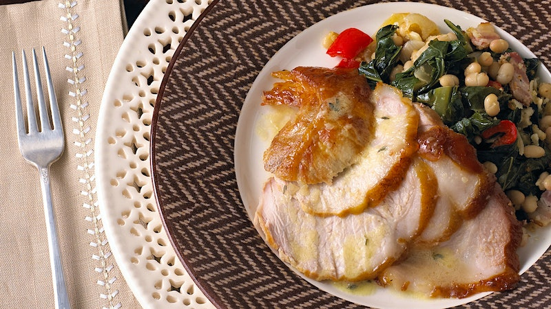 Dining Tip: Southern-Style Roast Pork Leg With Truffle Sauce