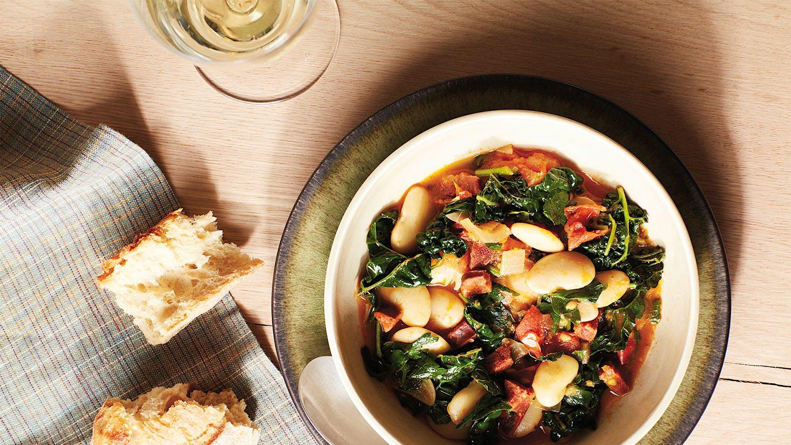 Dining Tip: Melissa Perello's Spicy Bean and Chorizo Soup