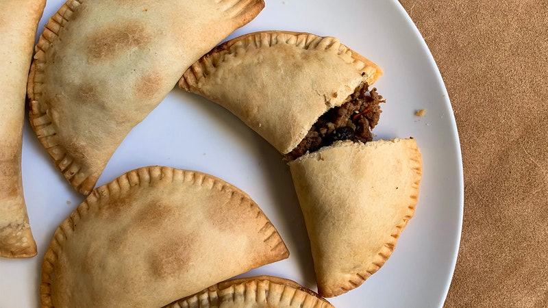 8 & $20: Sweet and Spicy Beef Empanadas