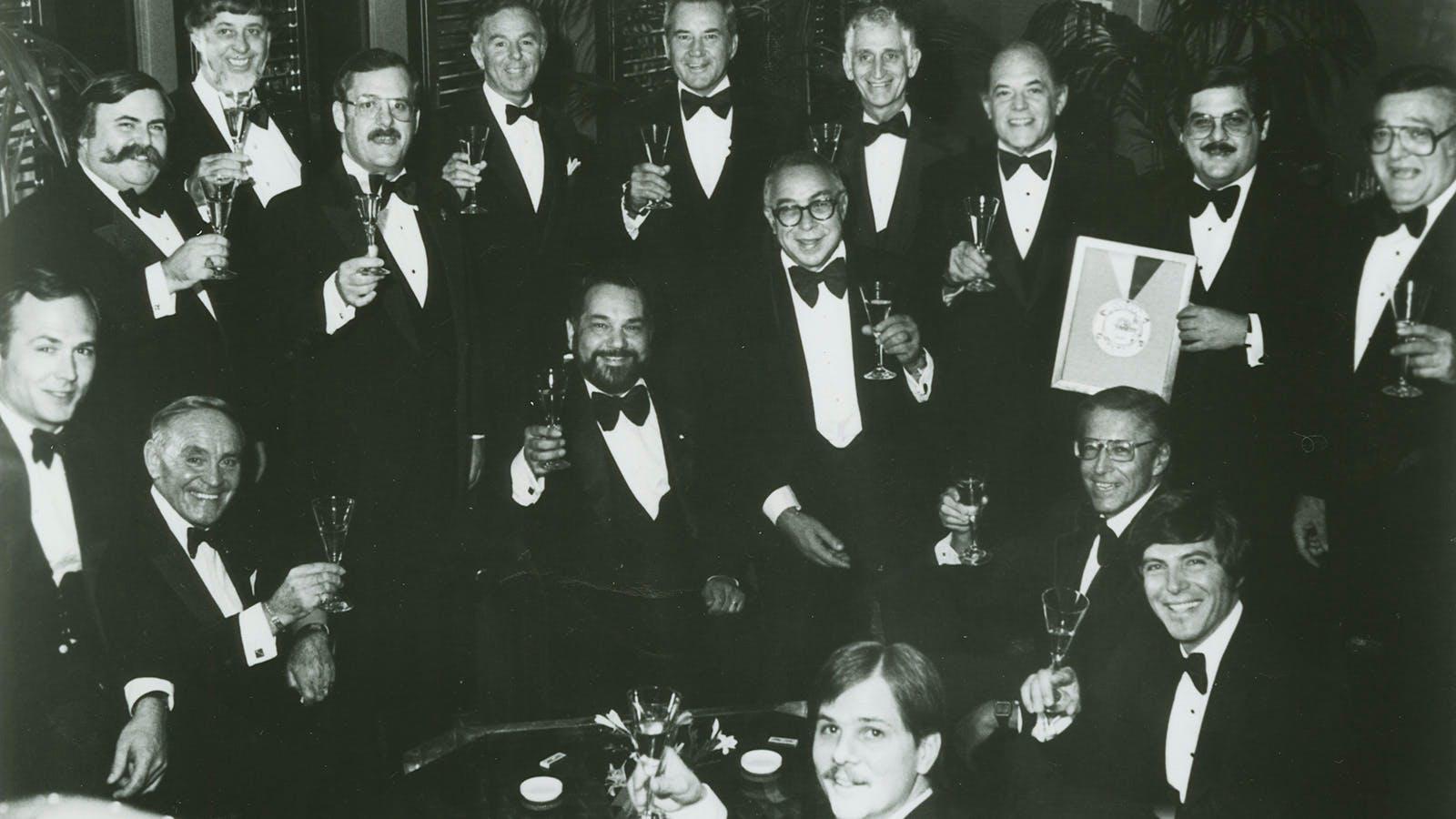 History of Wine Spectator's Restaurant Awards