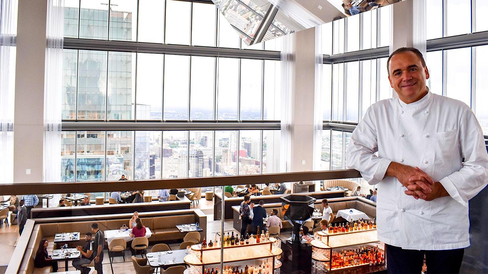 Jean-Georges Vongerichten Opens Restaurant with a Philadelphia View