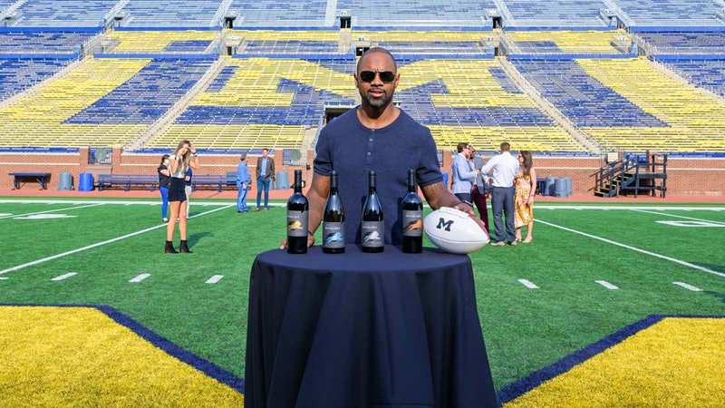 Charles Woodson Tackles California with New 'Intercept' Wine Line