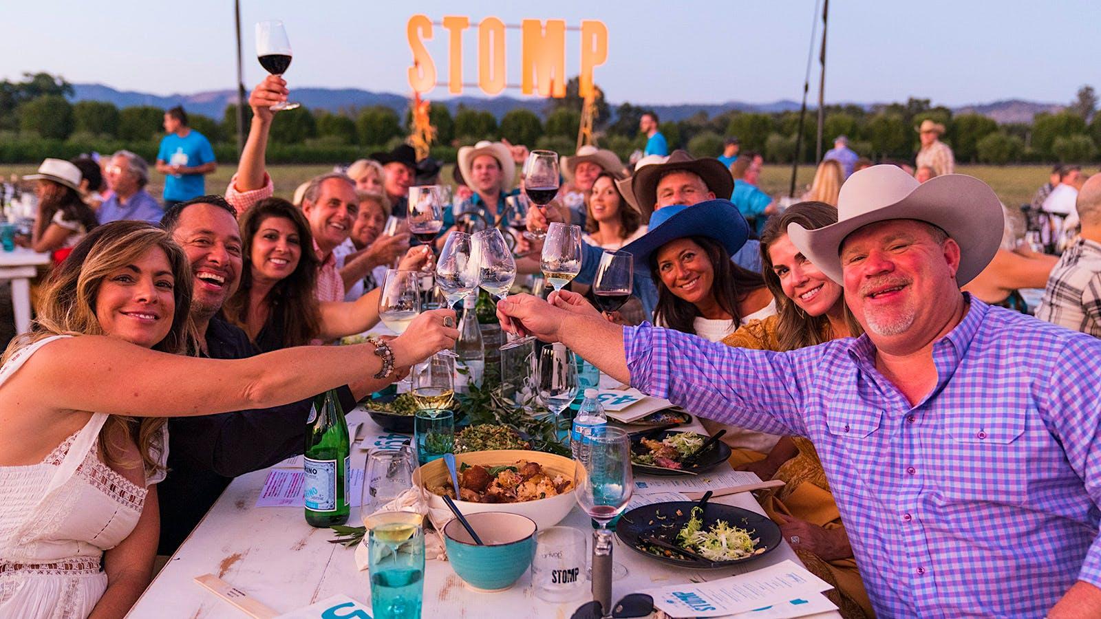 Napa's Harvest Stomp Auction Raises $2.32 Million