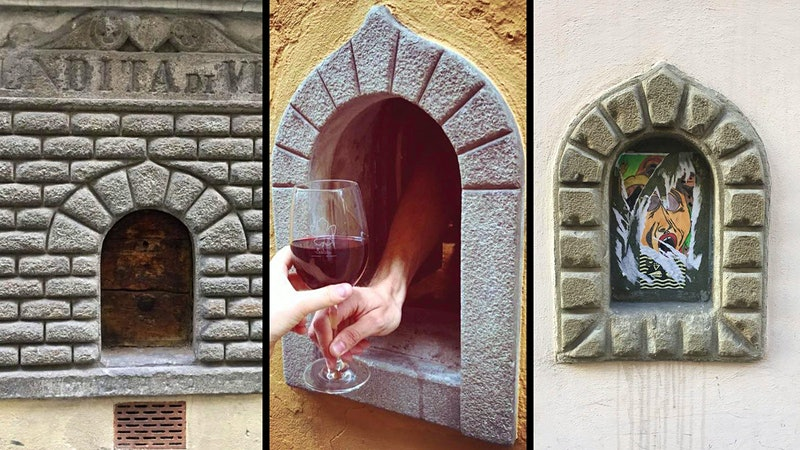 Florence Reopens Historic Wine Windows