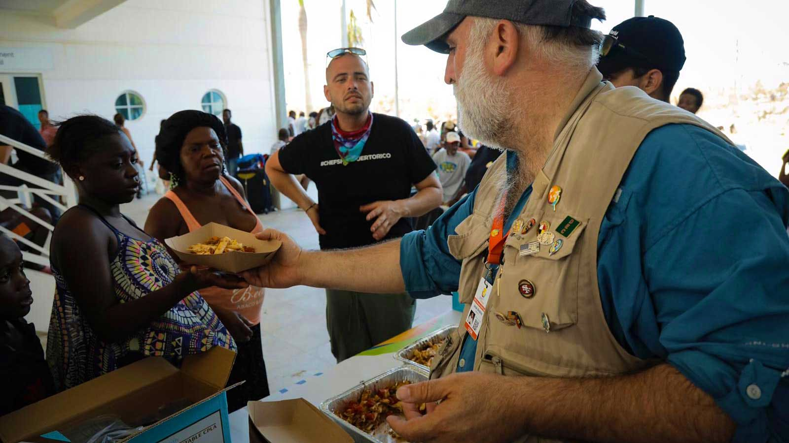 Chef José Andrés' Charity Makes a Difference with 1 Million Meals
