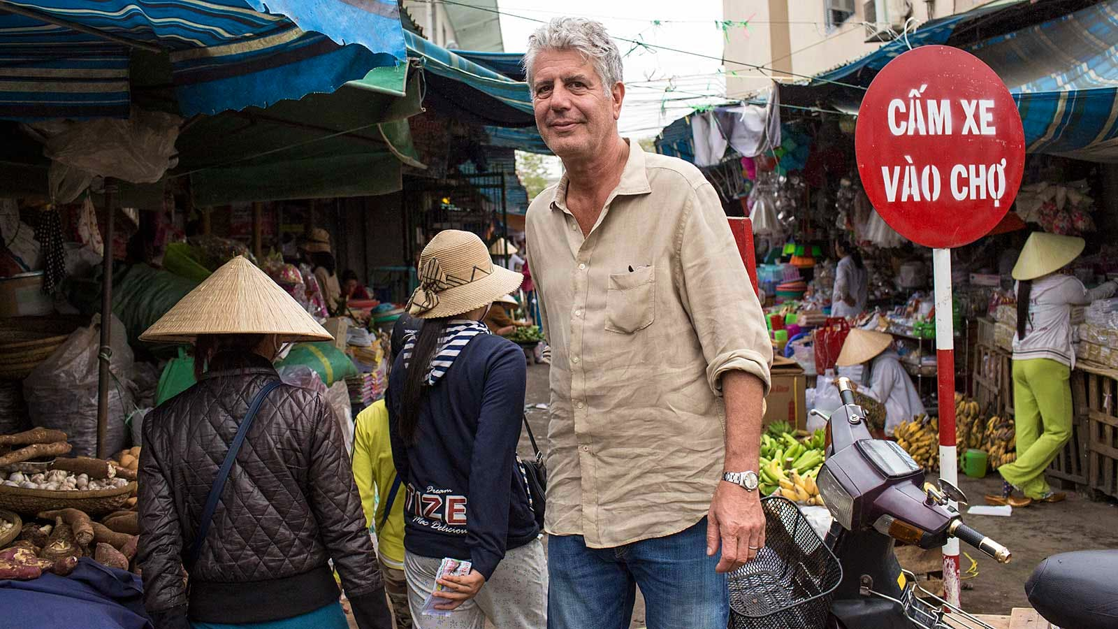 Anthony Bourdain's Art, Tools, Manuscripts Up for Auction
