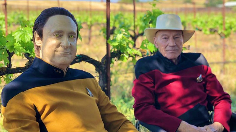 Behind the Scenes at Star Trek's Château Picard Vineyard