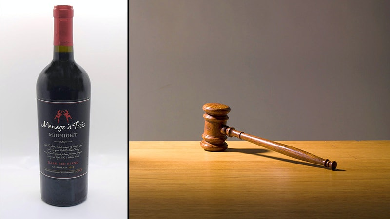 No Ménage à Trois, Please, We're British: U.K. Censor Strikes 'Midnight' Wine