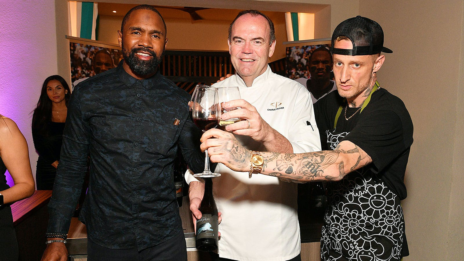 Charlie Palmer, Charles Woodson, Guy Fieri and Shaq Are the MVPs of Super Bowl Wine Tailgating