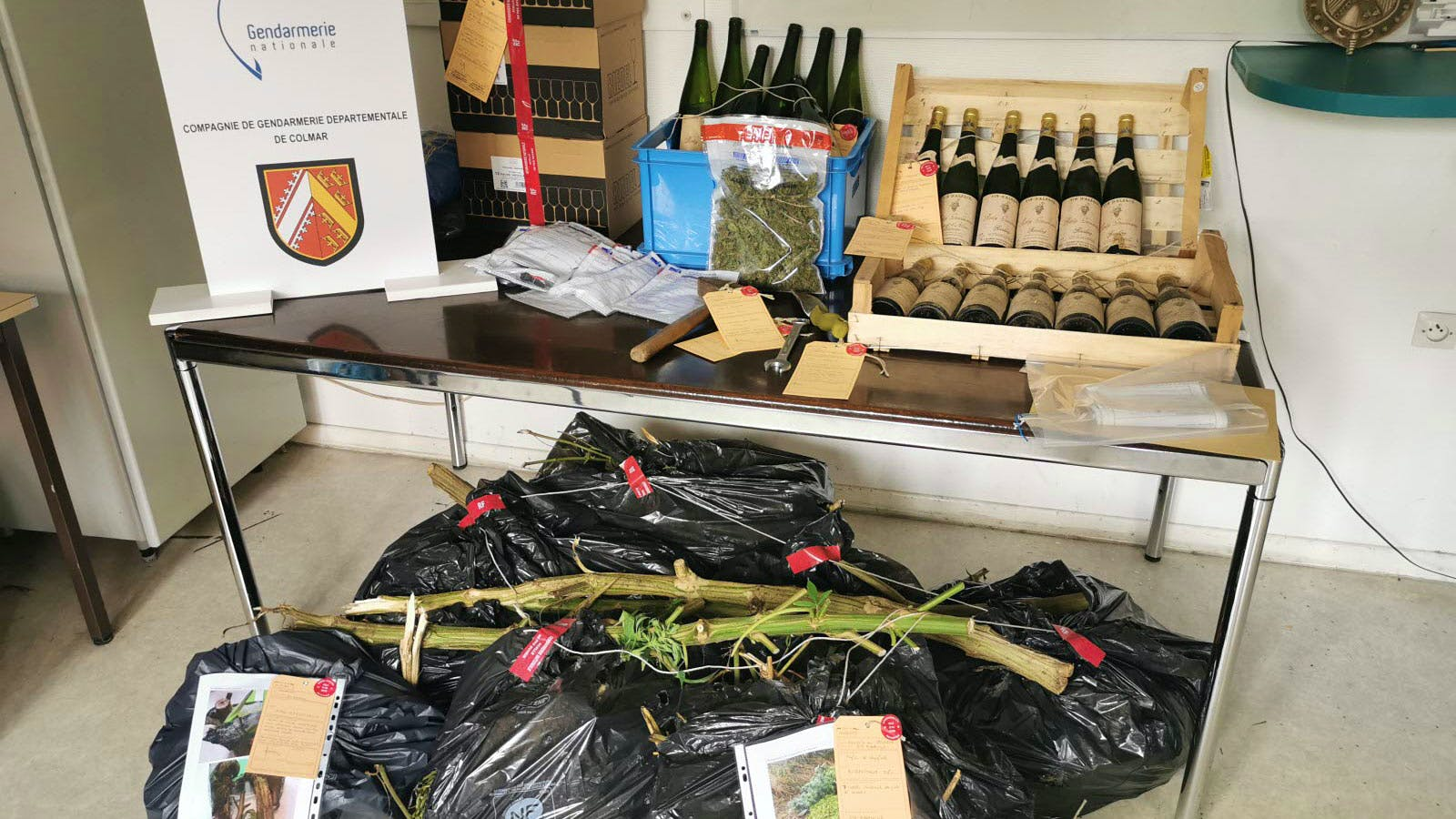 Drug-Dealer Wine-Stealers Busted for Alleged Theft of Royal Wine