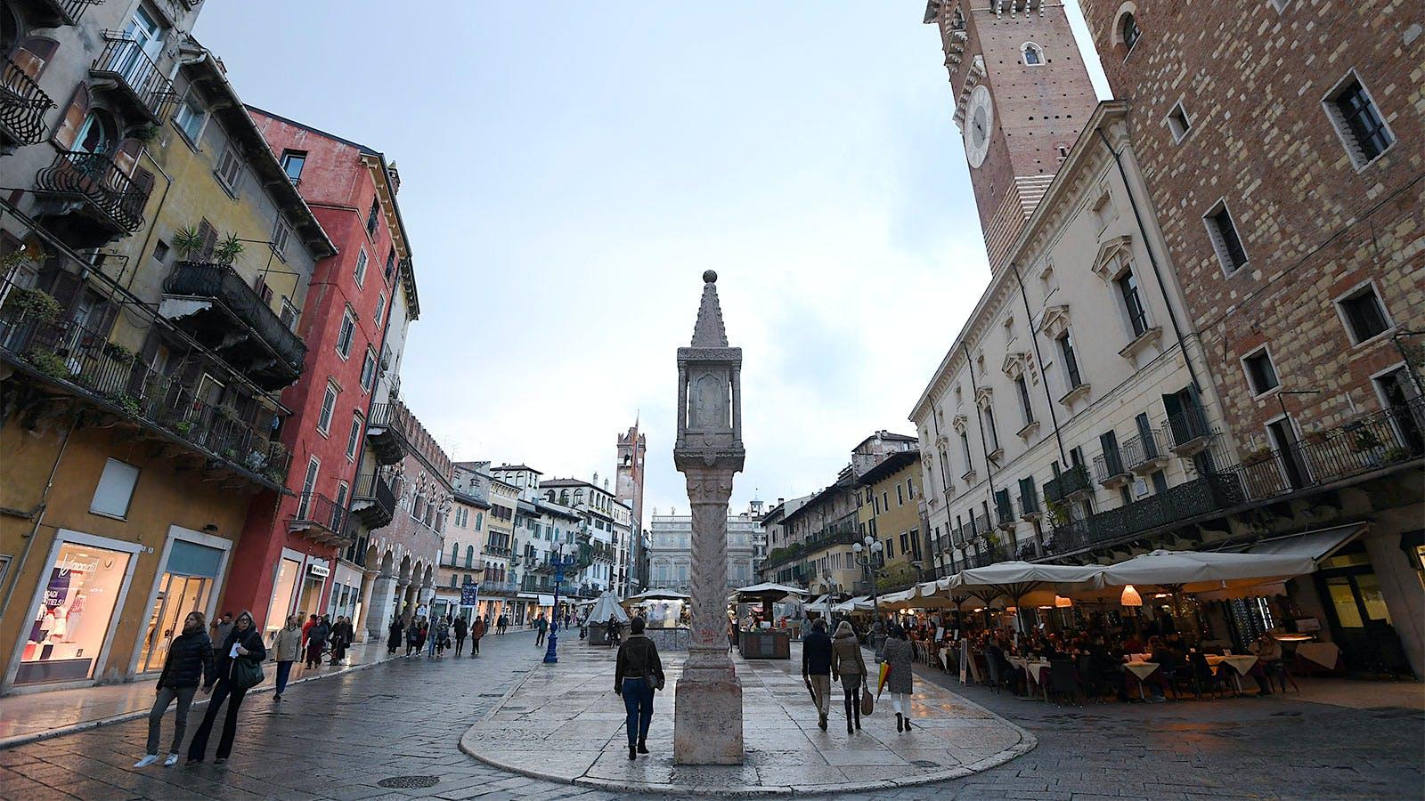 Italian Life in a Dark Hour