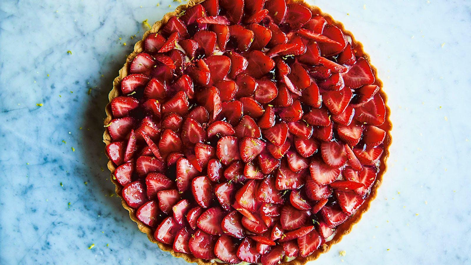 Sweeten Mother's Day with Frasca's Fresh Strawberry Tart
