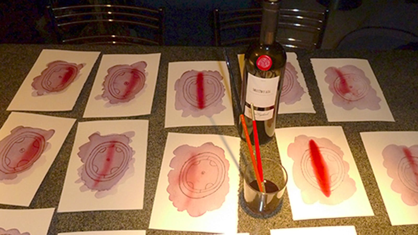 Italian Wine Painter Reveals Which Reds Work Best