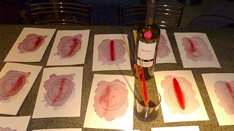 Italian Wine Painter Reveals Which Reds Work Best