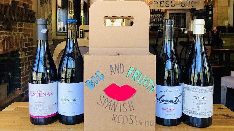 Takeout Stars: Press 626 Wine Bar
