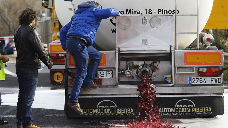 Man Guzzles Wine from Under Moving Tanker, Elaborate Scam on Champagne Heir: Shocking Acts of Winecrime Everywhere