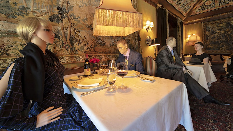 Michelin-Starred Dining for Dummies: The Story Behind the Social-Distancing Mannequins at the Inn at Little Washington
