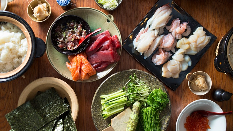 A Father's Day Sushi Feast from Sonoma's SingleThread Farms