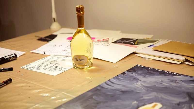 Irreverent Artist David Shrigley, Dolce & Gabbana Design Labels; National Rosé Day Festivities Are Here