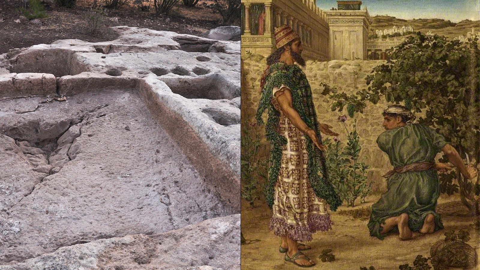 Winery from Bloody Biblical Land Dispute Discovered?