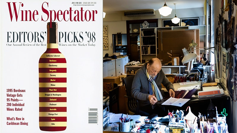 Late, Great Designer Milton Glaser Also Created 'Wine Spectator' Covers