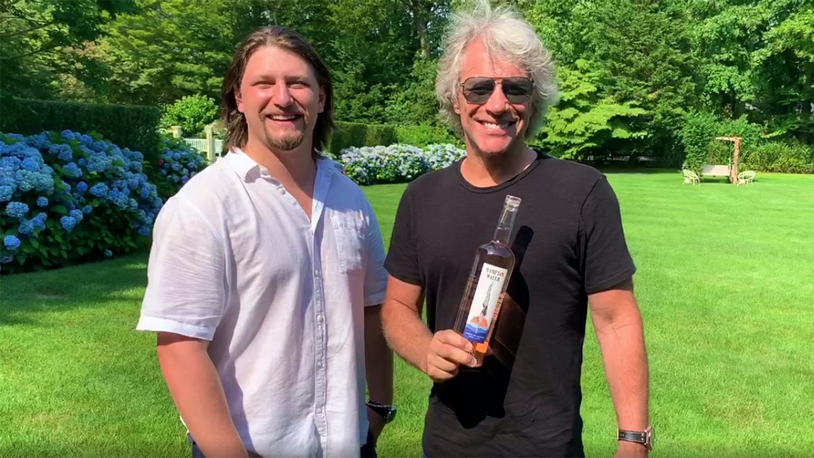 Jon Bon Jovi Is Playing at Your House to Raise COVID Relief Money with His Rosé