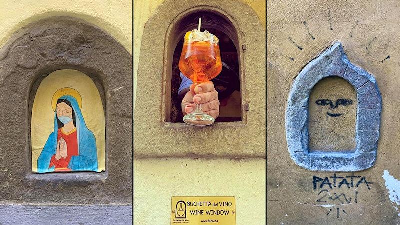 Florence's Renaissance 'Wine Windows' Reveal New Secret