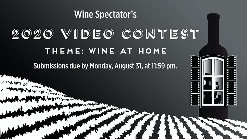 Announcing Wine Spectator's 14th Annual Video Contest: Wine at Home