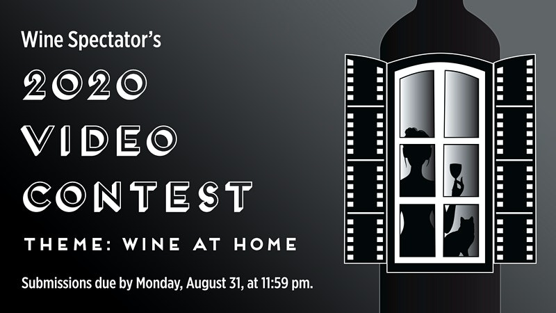 Wine Spectator 2020 Video Contest: Rules, Prizes and Entry Form