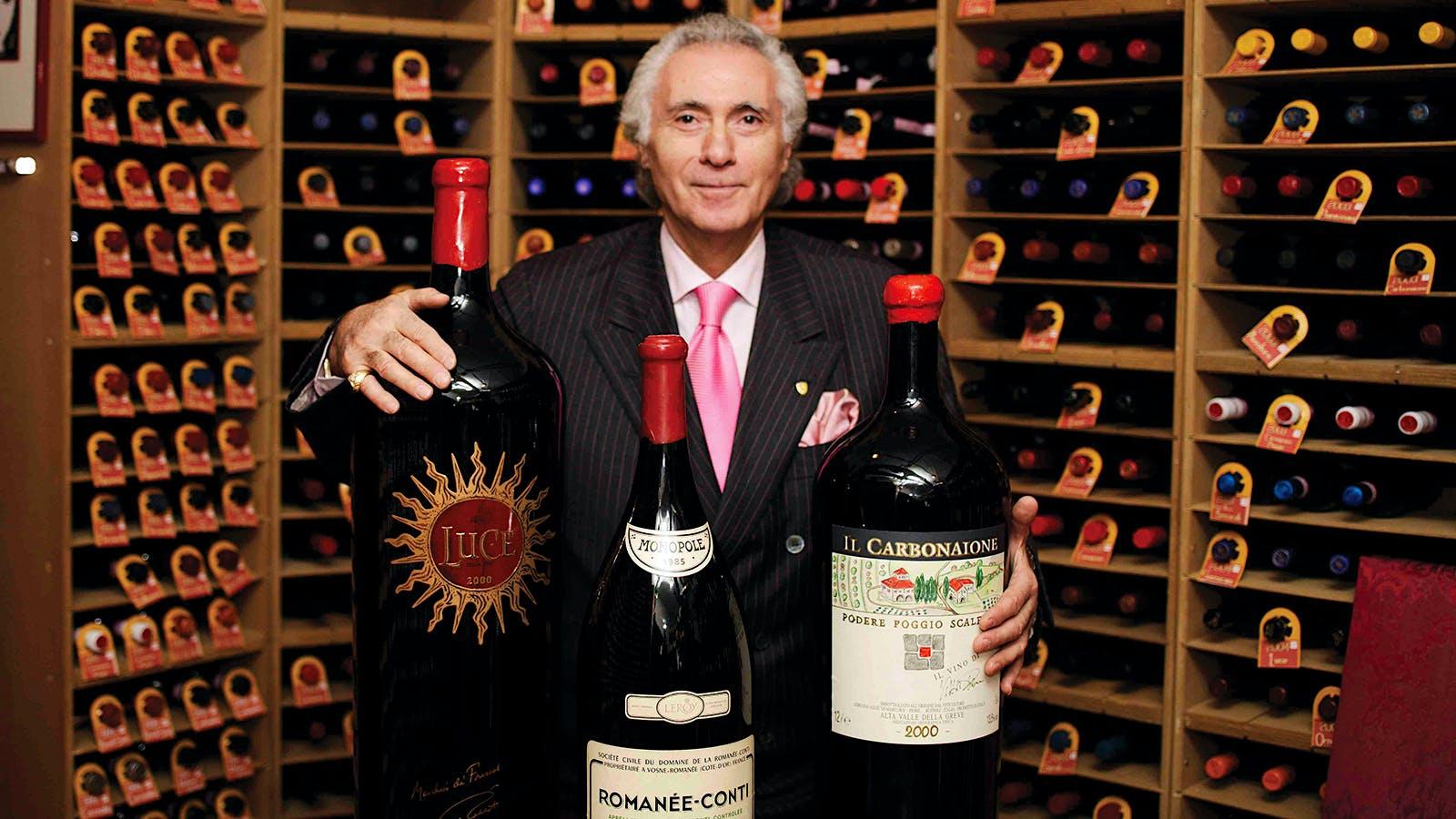 Zachys Auctions Rare Wines from Italy's Enoteca Pinchiorri