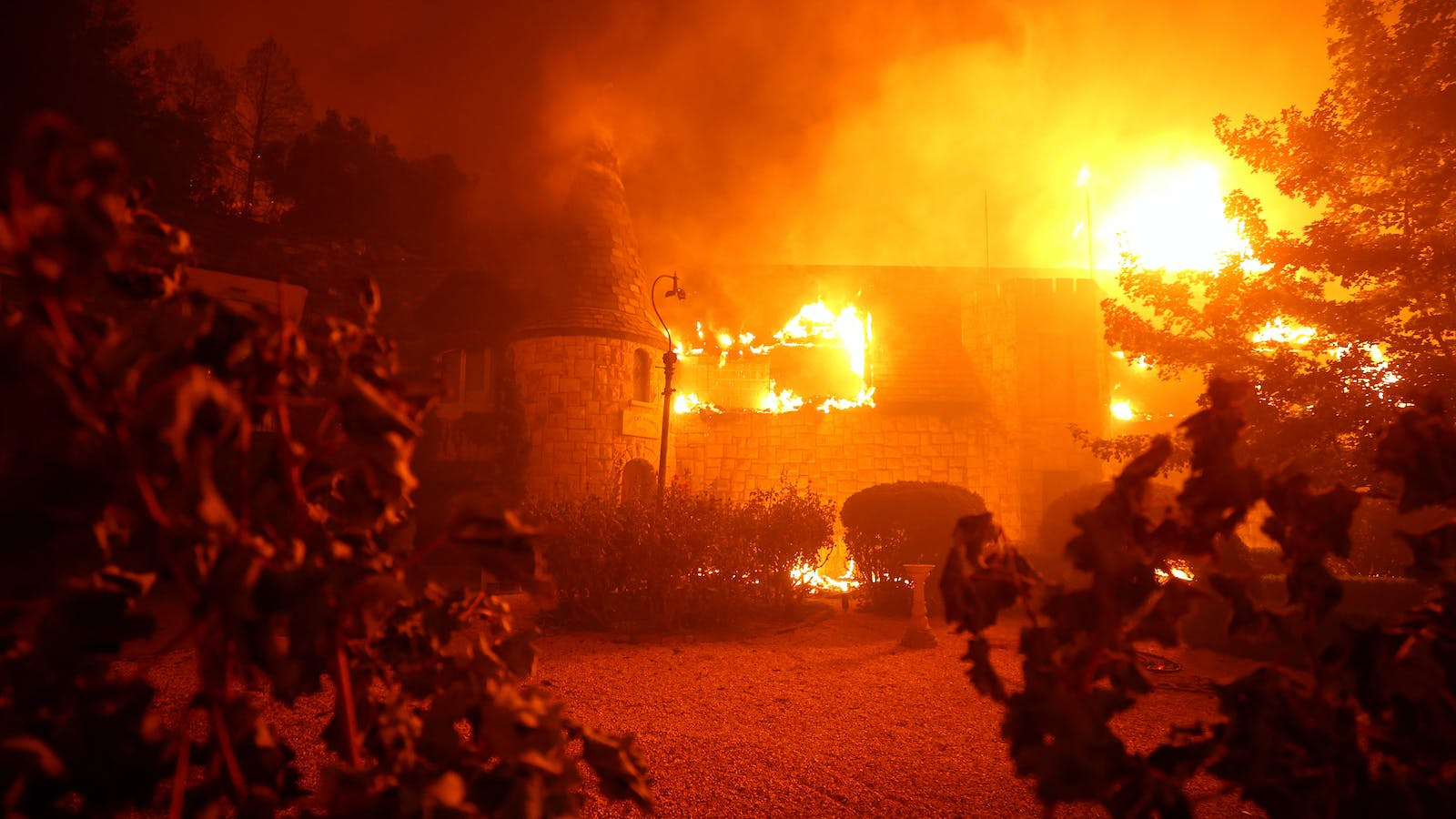 Fast-Moving Wildfires Erupt in Napa, Spread to Sonoma, Striking Another Blow to 2020 Harvest