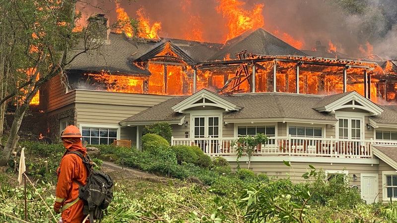 Meadowood Resort, Newton, Burgess and Behrens Among Napa Wildfire's Many Victims