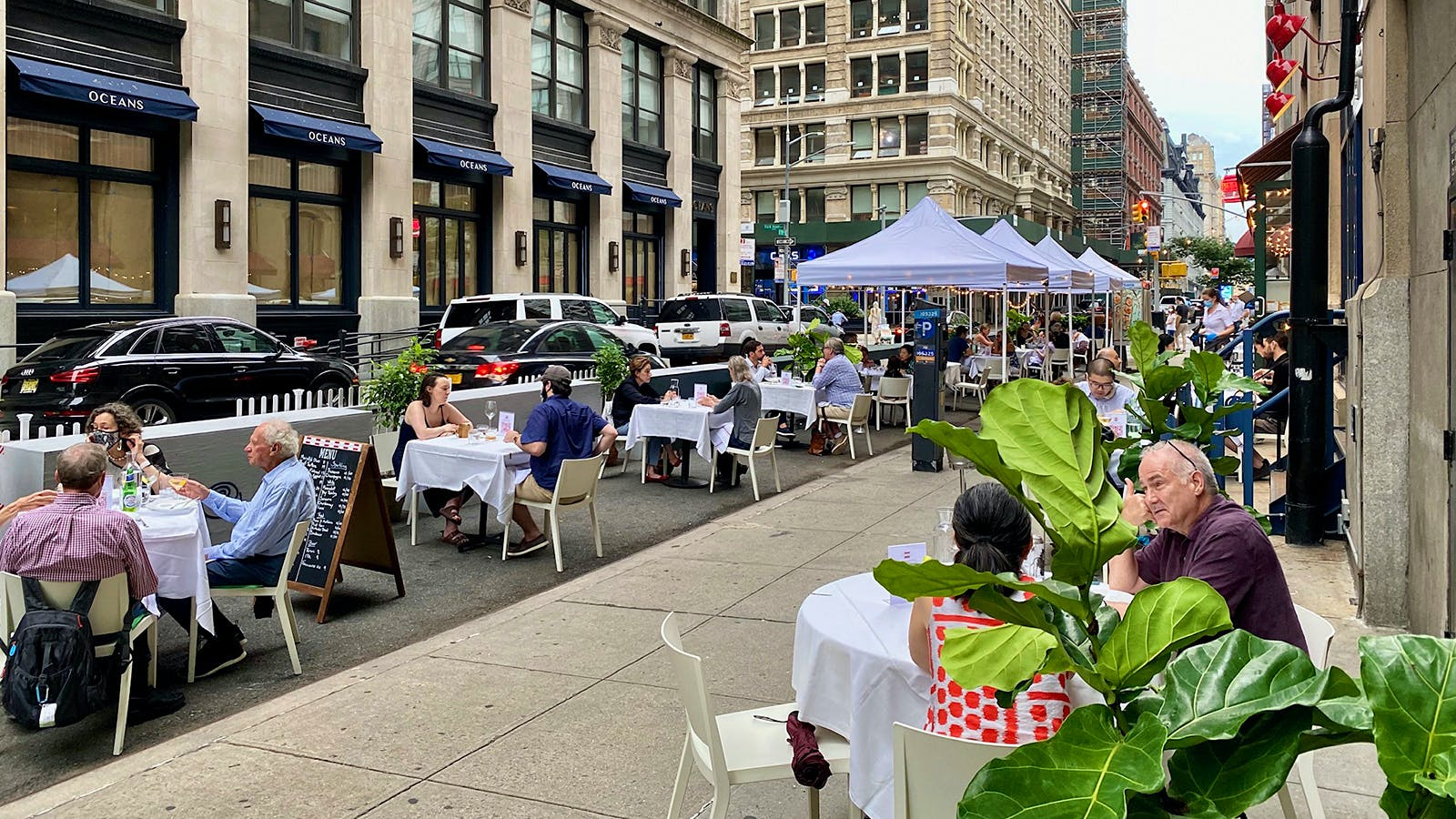 13 Wine Destinations for Outdoor Dining in New York City