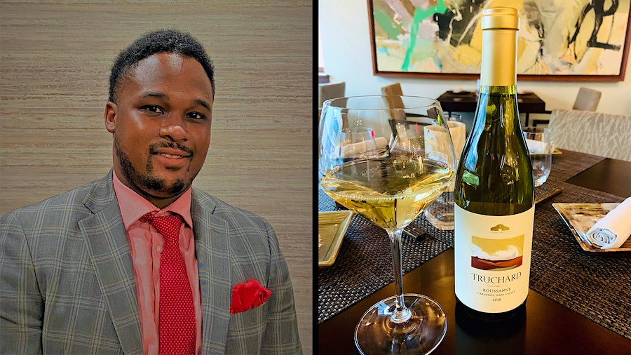 Sommelier Daniel Tucker and his team had to get creative when the pandemic hit, including setting up a retail operation for wine from Elements.