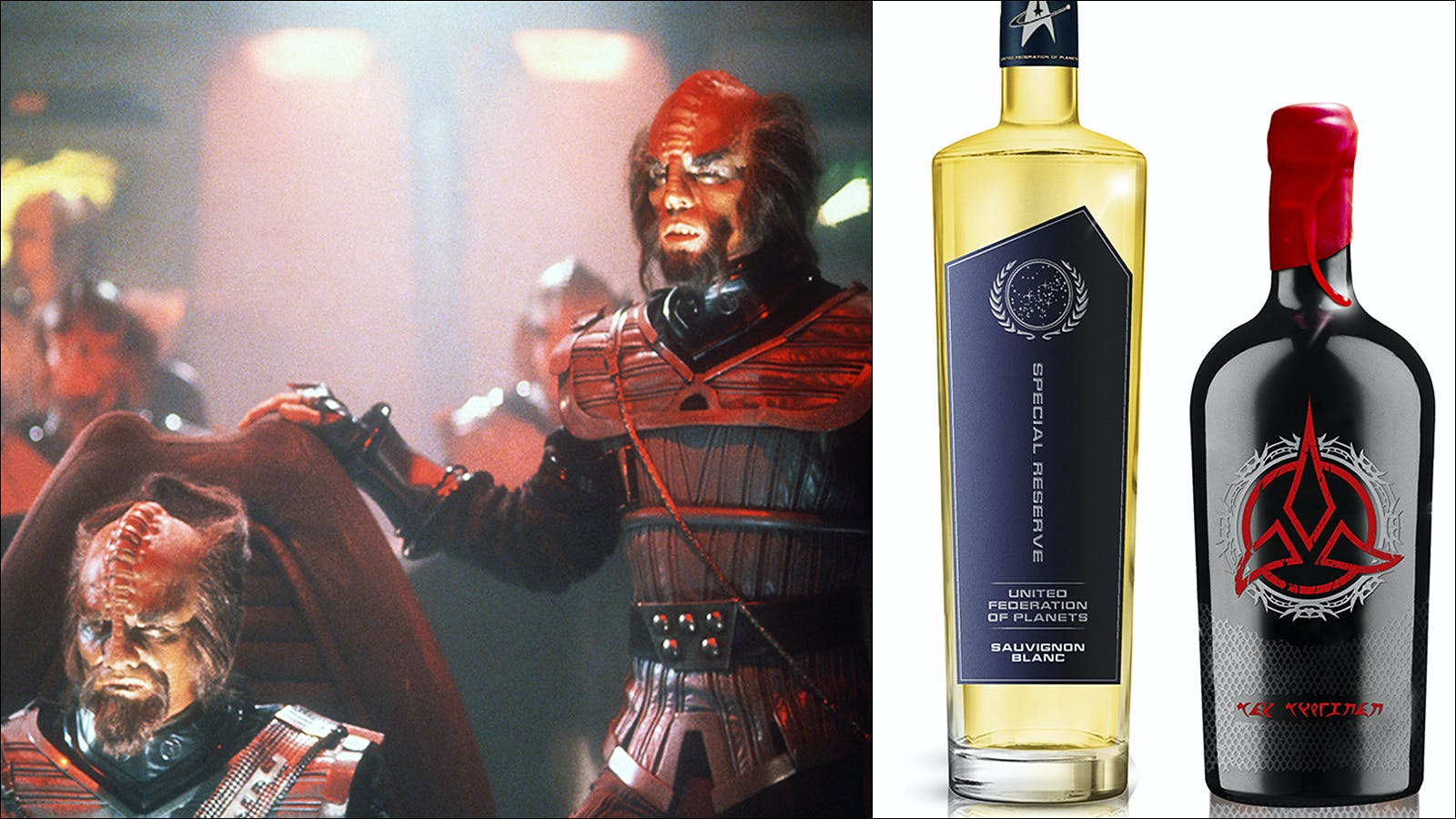 New 'Star Trek' Klingon Bloodwine Is Here for You to Celebrate Vanquishing Your Enemies
