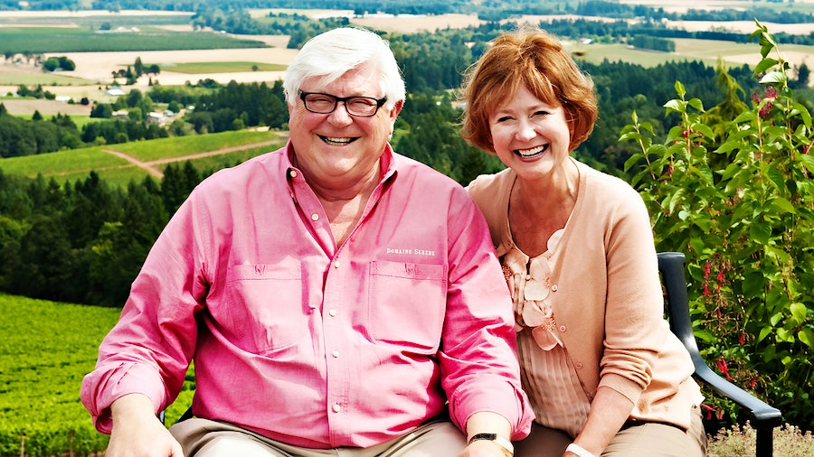 Ken Evenstad and his wife, Grace, fell in love with Oregon wine and threw themselves into it wholeheartedly.