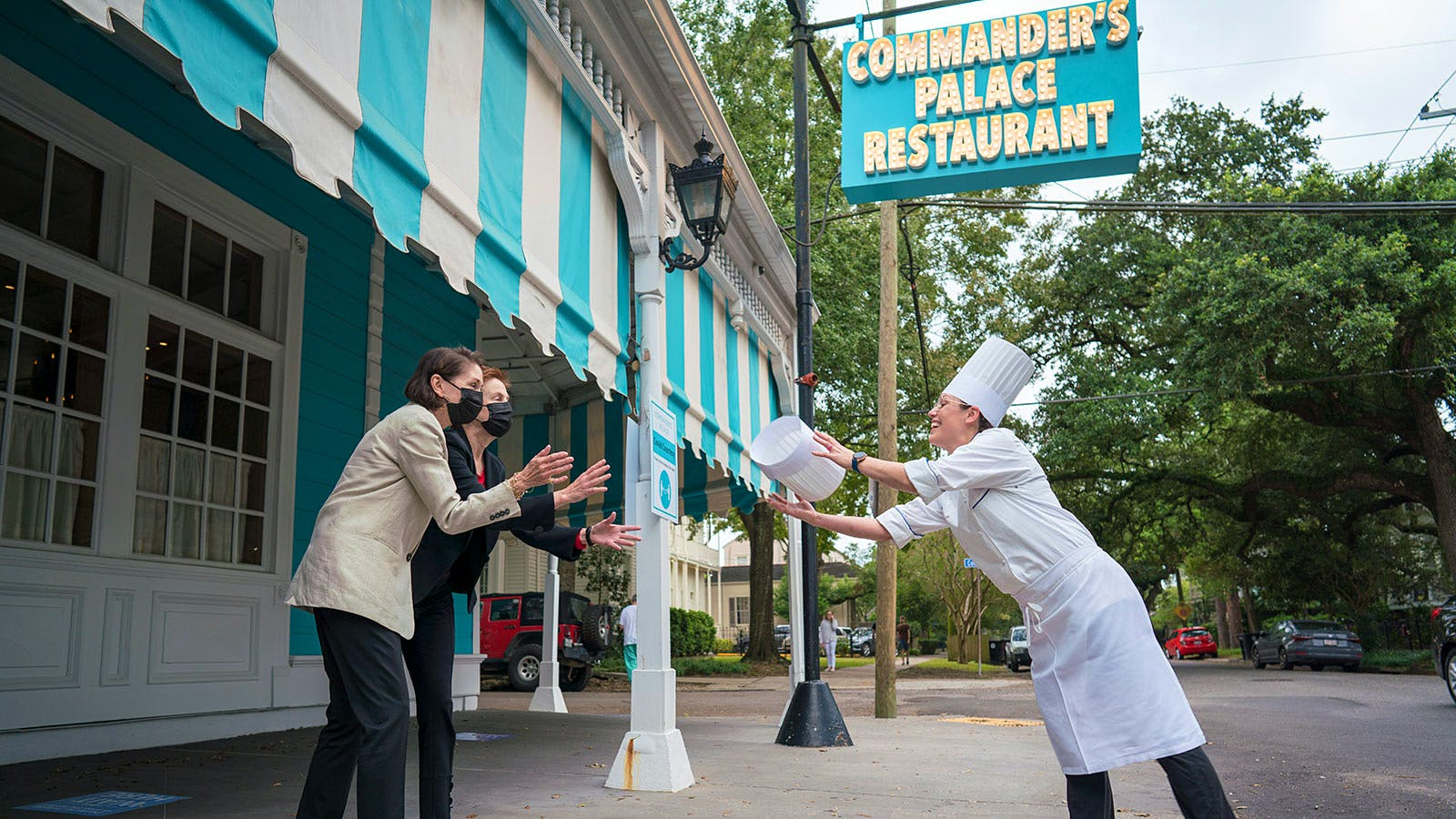 Landmark Restaurant Commander's Palace Makes History with New Chef