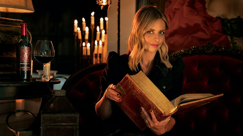 Sarah Michelle Gellar, Franzia Costumes, Haunted Wineries Ring in Hallowine Season