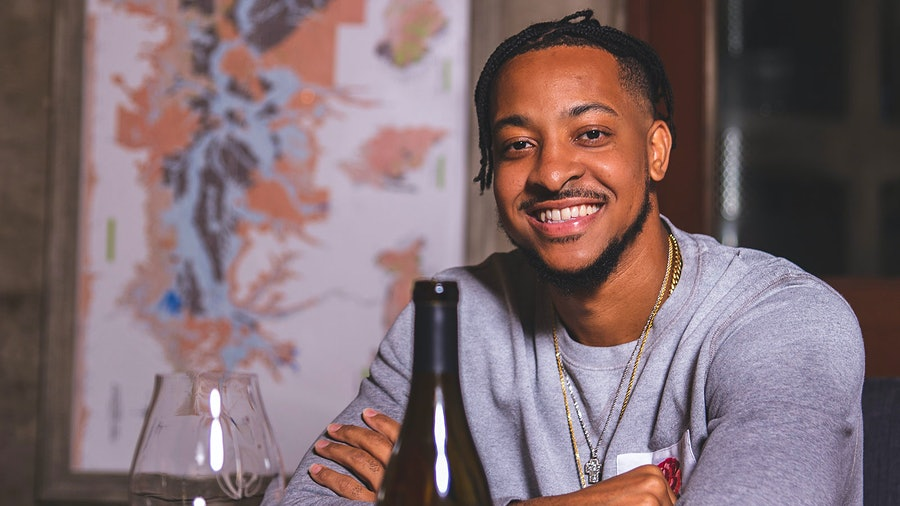 CJ McCollum wanted to craft a Pinot Noir that reflected Oregon terroir.