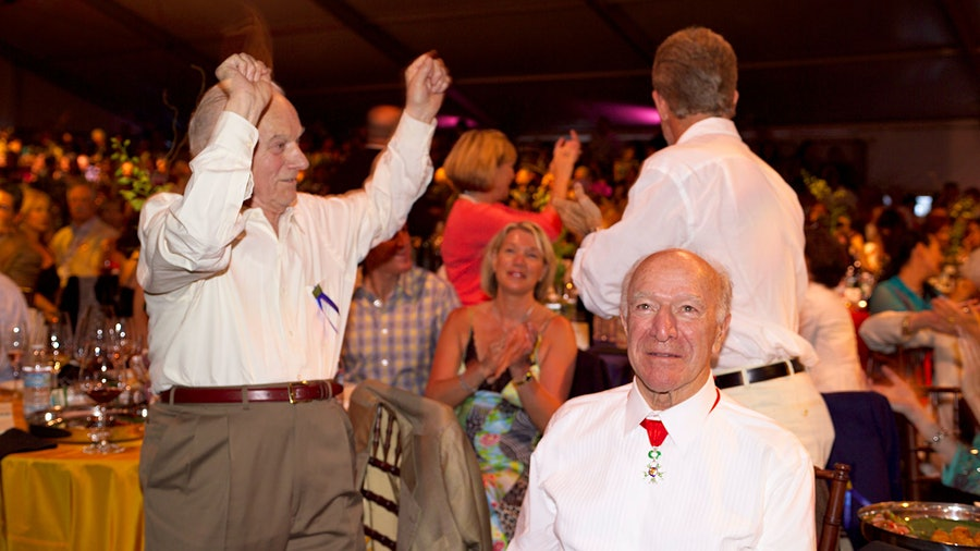Auction Napa Valley has seen historic moments, such as brothers Peter and Robert Mondavi reuniting in 2006 to help raise funds for charity.