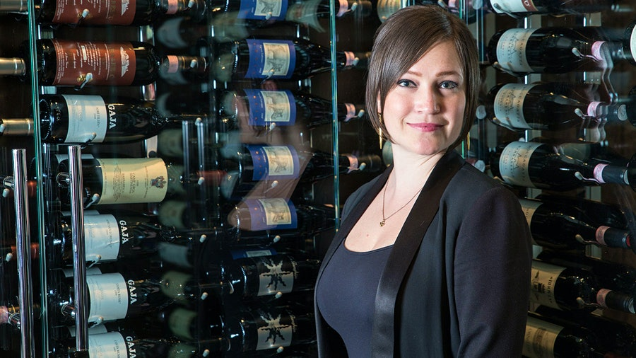 Rachael Lowe, beverage director at Spiaggia, says that sales rebounded even with limited indoor dining, but that's on hold for now.