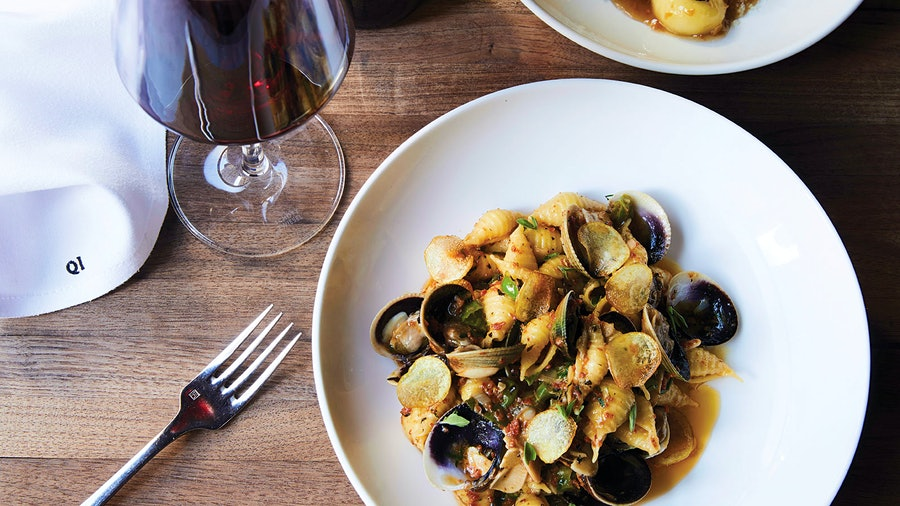 Naturally, pastas are a primary part of the menu at Quality Italian's Restaurant Award–winning Denver location.
