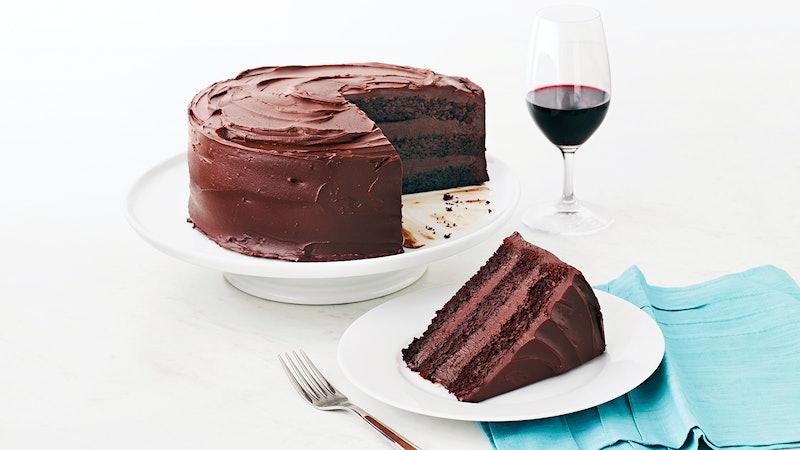 Chocolate Layer Cake With Bittersweet Ganache