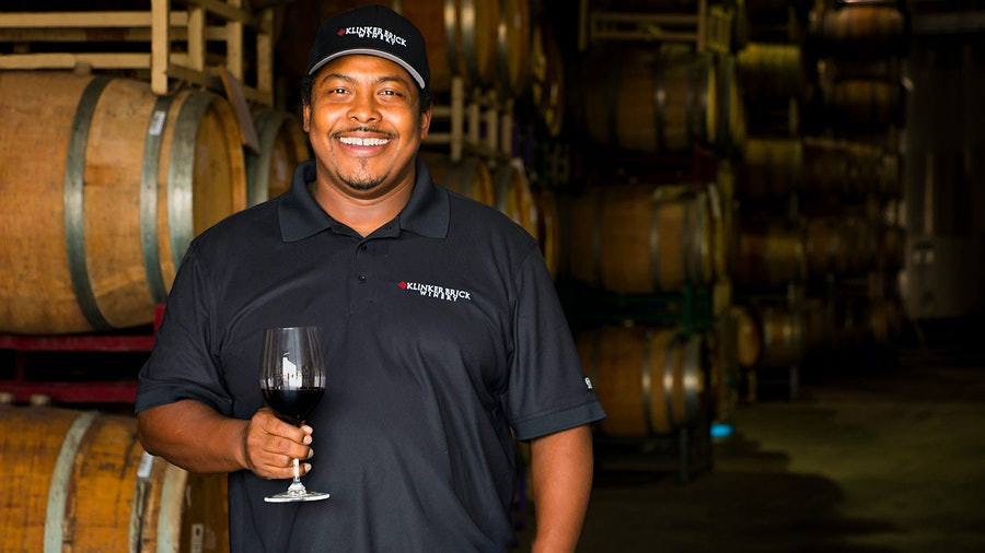 Winemaker Joseph Smith Grew up in Belize, with no exposure to wine. Now it is his passion and life's work.