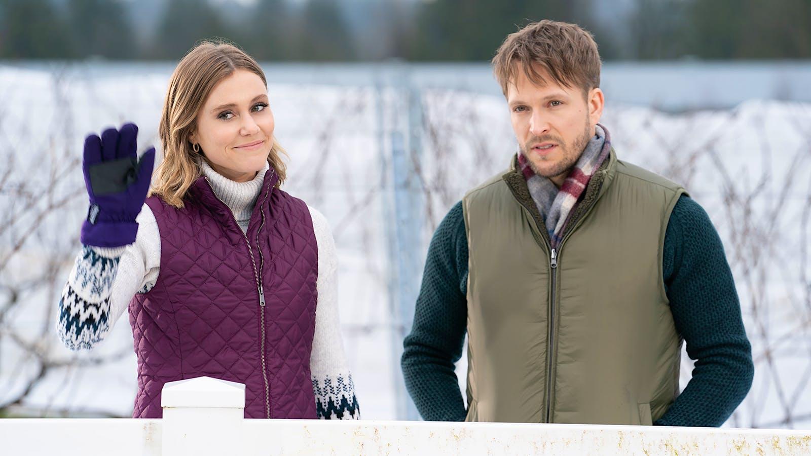 'Christmas on the Vine' Brings Vineyard Romance to Lifetime Channel